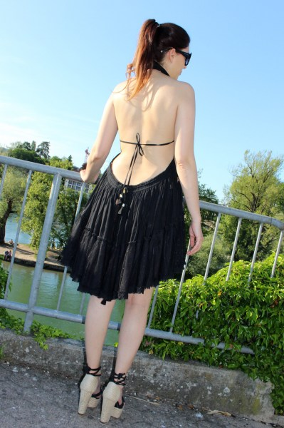 Elka Dress schwarz