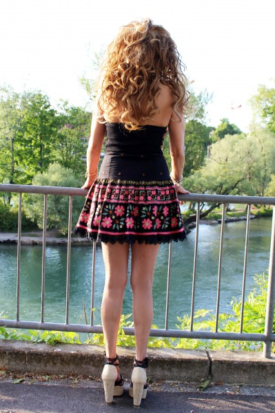 Bomba Dress schwarz